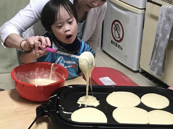 ホットケーキ作ろ【キッチン・ブレス日記】